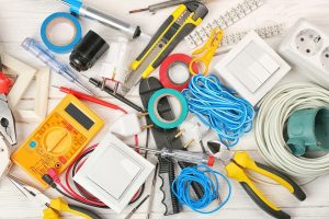 Picture of electrical tools
