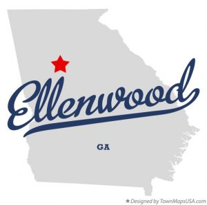 Picture of Ellenwood, Georgia on the map